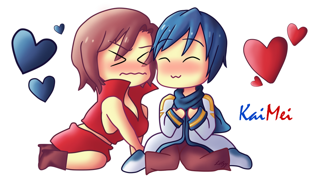 KaiMei Chibi by Infogirl101