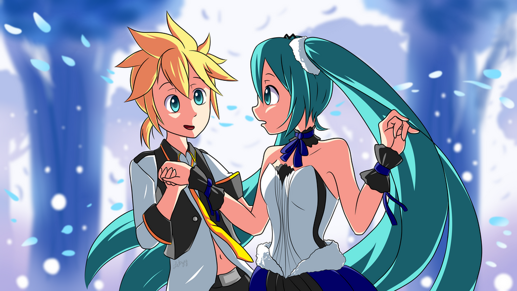 Miku x Len Day! by Infogirl101