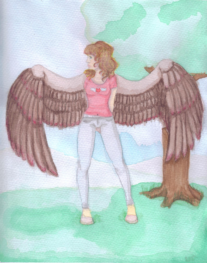 Angel Girl DID Colored by ThatzThatz