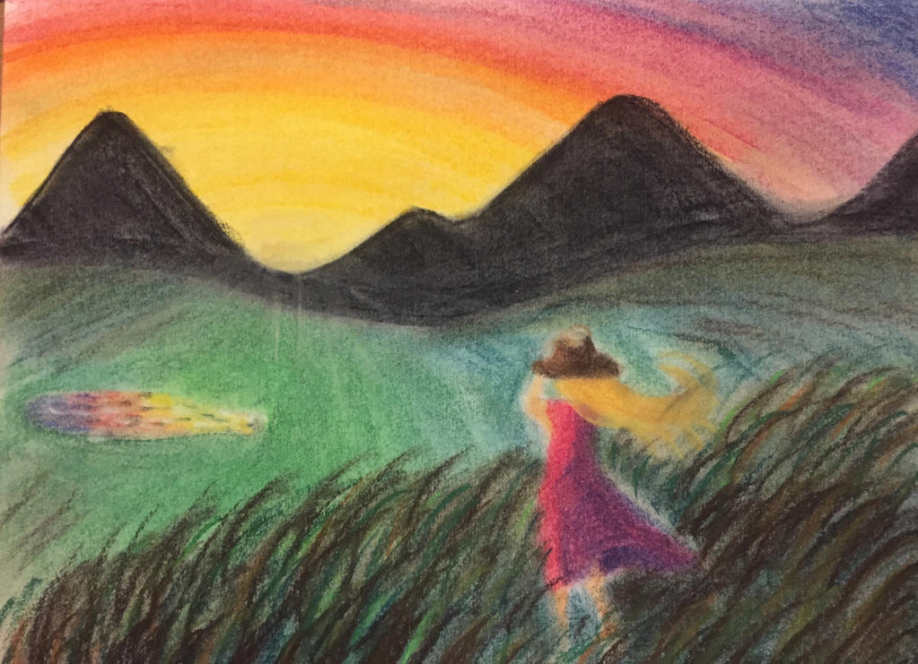 Windy Sunset by ThatzThatz