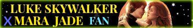 Luke Skywalker X Mara Jade Fan Button by LizRenKnight