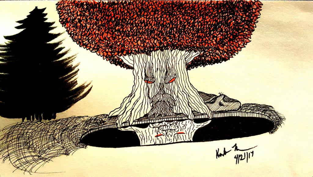 Wier Tree by NetsirkWriter