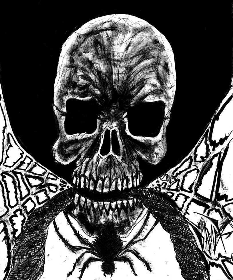 spiderskull by DAMIX by DAMIX-ART