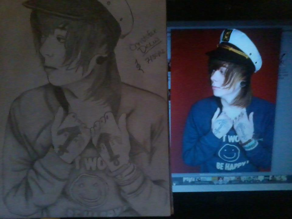 Christopher Drew Comparison Drawing by ...