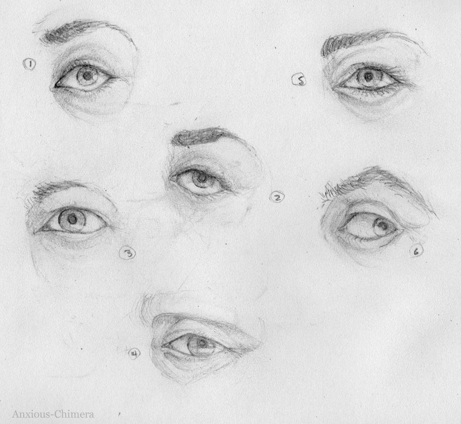 Chimera human eyes
