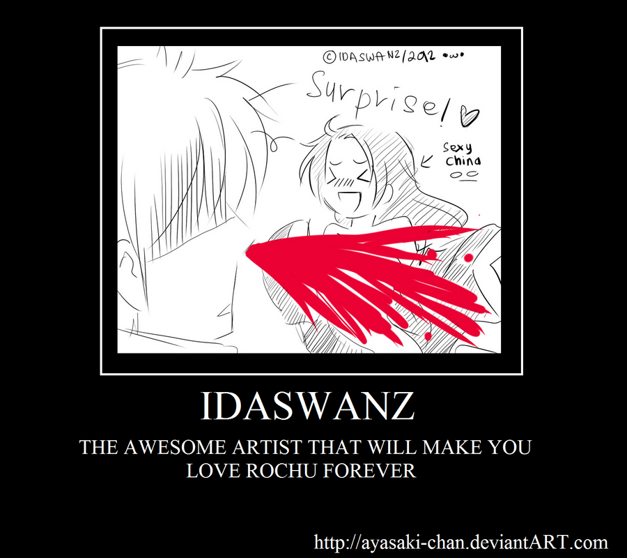 IDASWANZ IS AN AWESOME ARTIST by AYASAKI-CHAN
