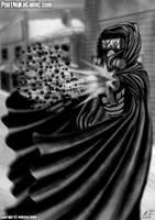 Christopher shotgun blast by Dre-Artwork