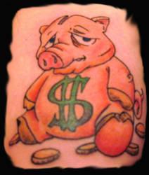 Broke ass piggy bank by bigmikey114
