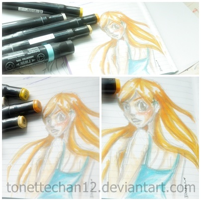 Orihime Page by tonettechan12