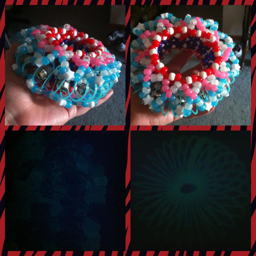 Mini Slinky Kandi Cuff Prize by Wolffy5683