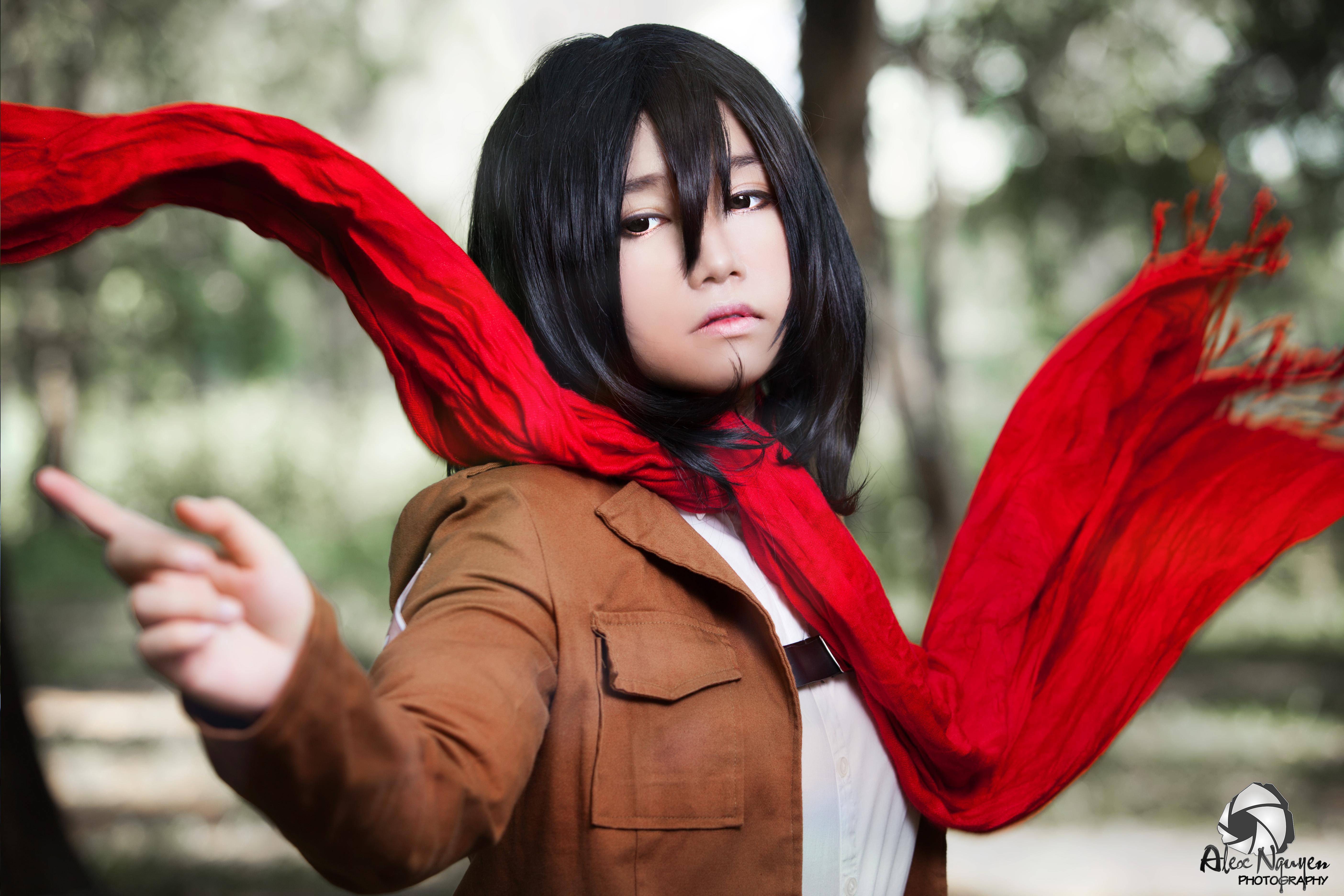 Shingeki no Kyojin - Mikasa by alexnguyen06