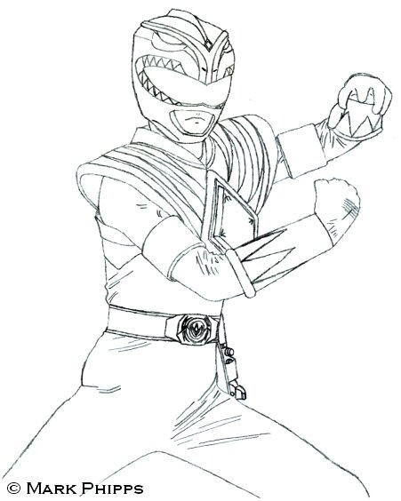 Burai dragon ranger by morgan lamia on deviantart for Mighty morphin power rangers coloring pages