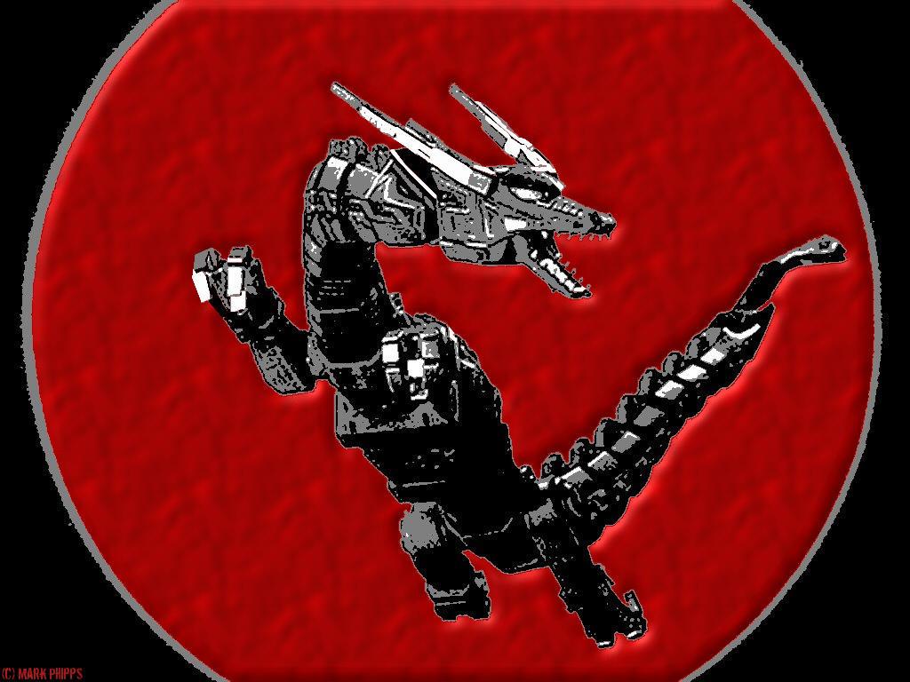 WP - Red Dragon Thunderzord by morgan-lamia on DeviantArt