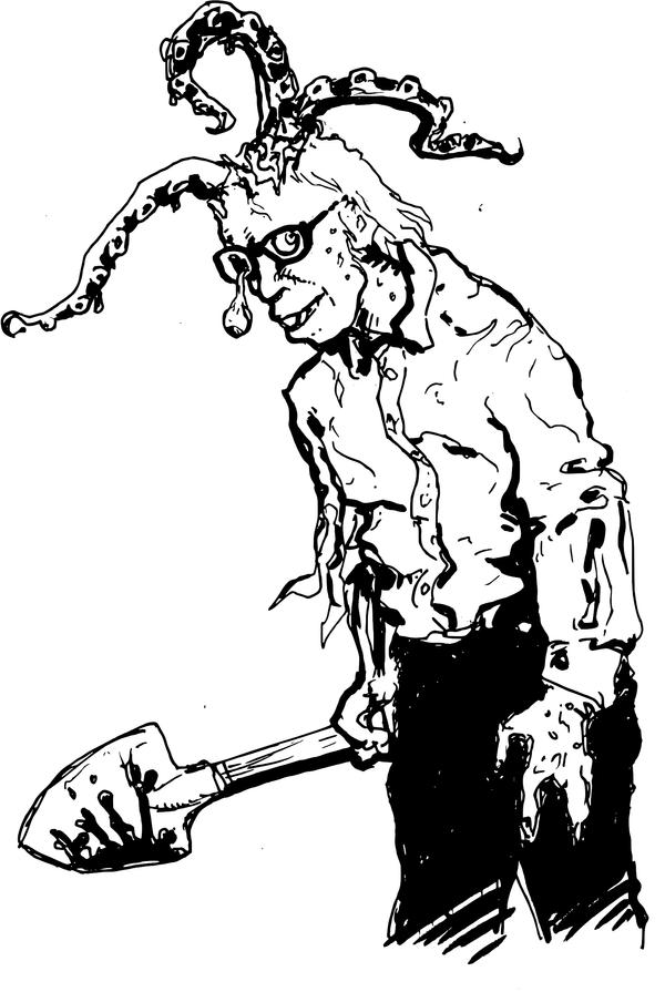 Eldritch Zombie by ejamesheil