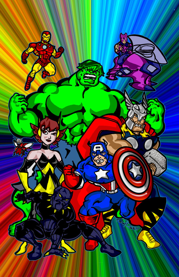 Avengers Animated by mkeaston77