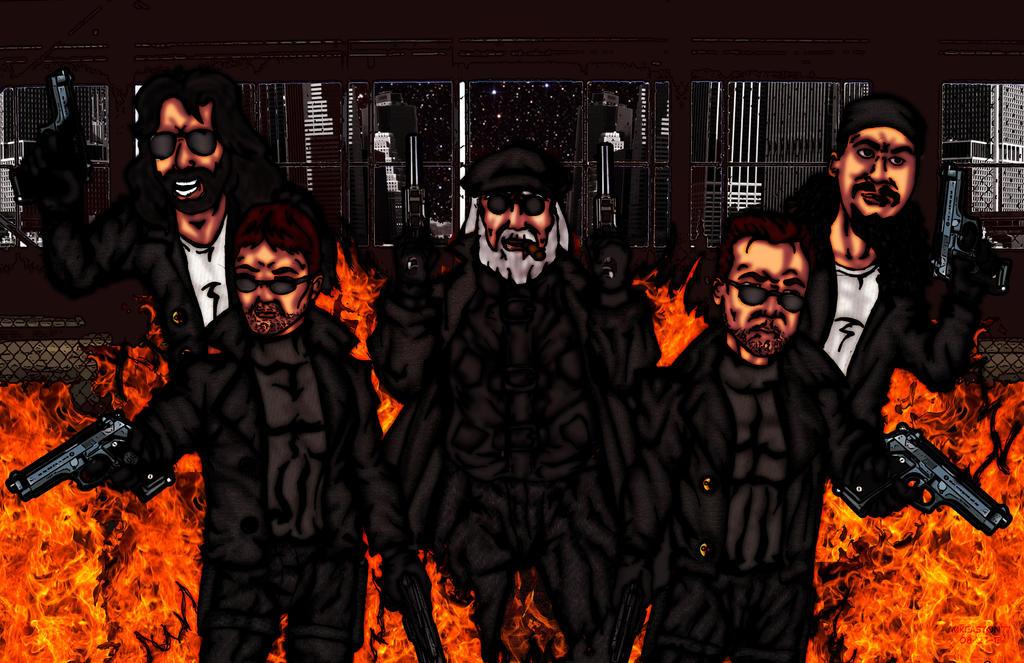 The boondock saints by mkeaston77 on deviantart - Boondock saints cartoon ...