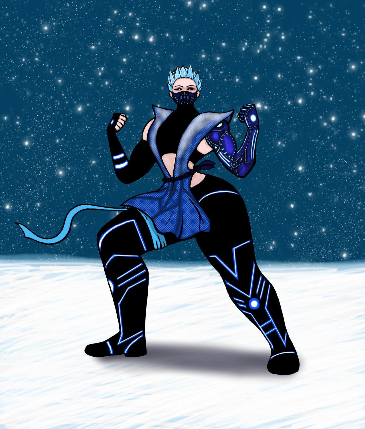 Mortal Kombat Frost By Brockwel On DeviantArt