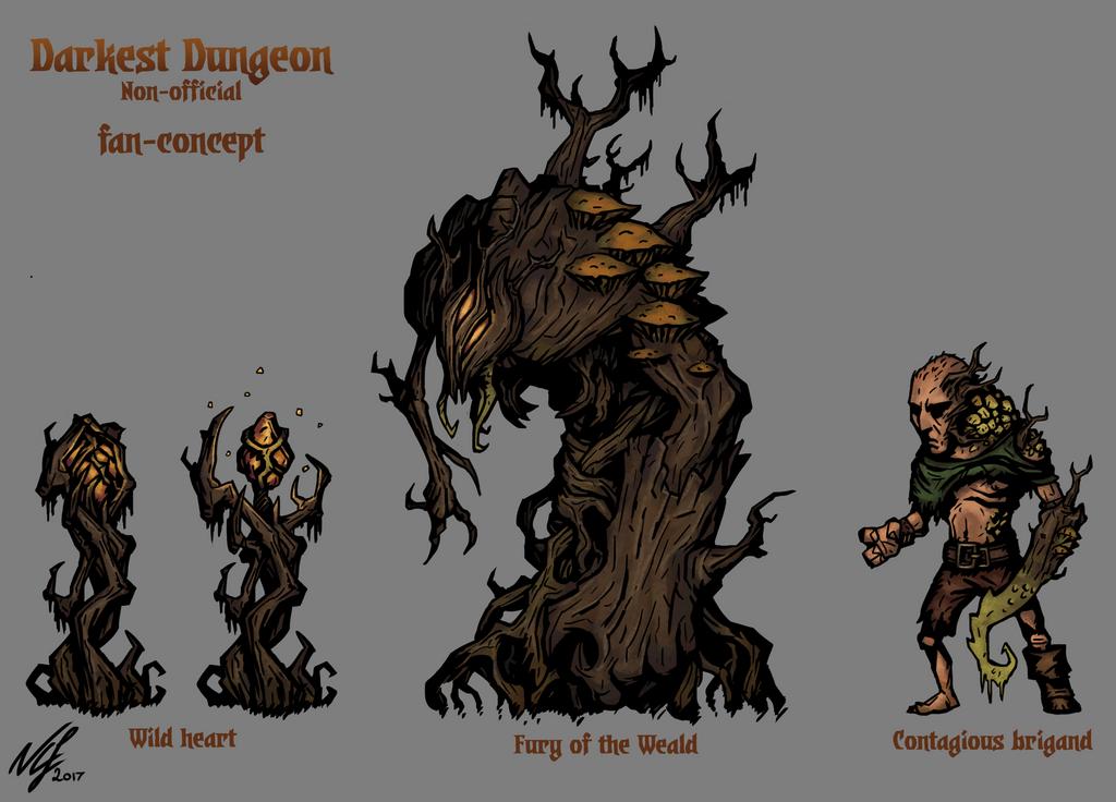Fan Concept Art Darkest Dungeon By Grimnoley On Deviantart