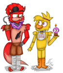 Foxy And Chica.