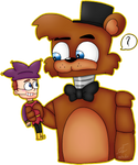 Freddy Meet Jester by nongying