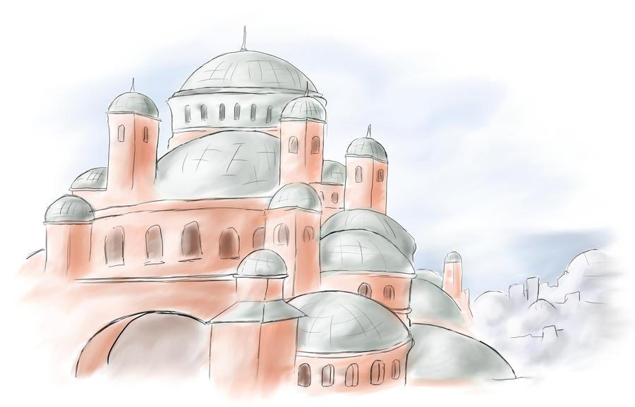 Hagia Sophia by Drak-Joen