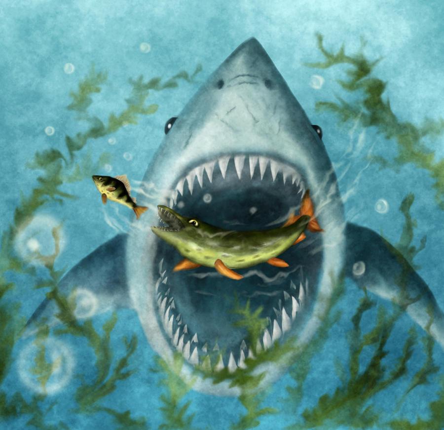 Jaws by Drak-Joen