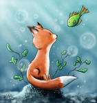 Aquatic fox