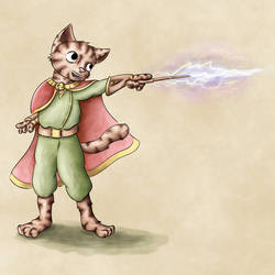 The magician - Cats of June 15/30 by JoenSo