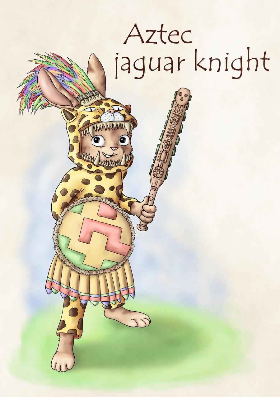 Warrior rabbits - Jaguar knight
