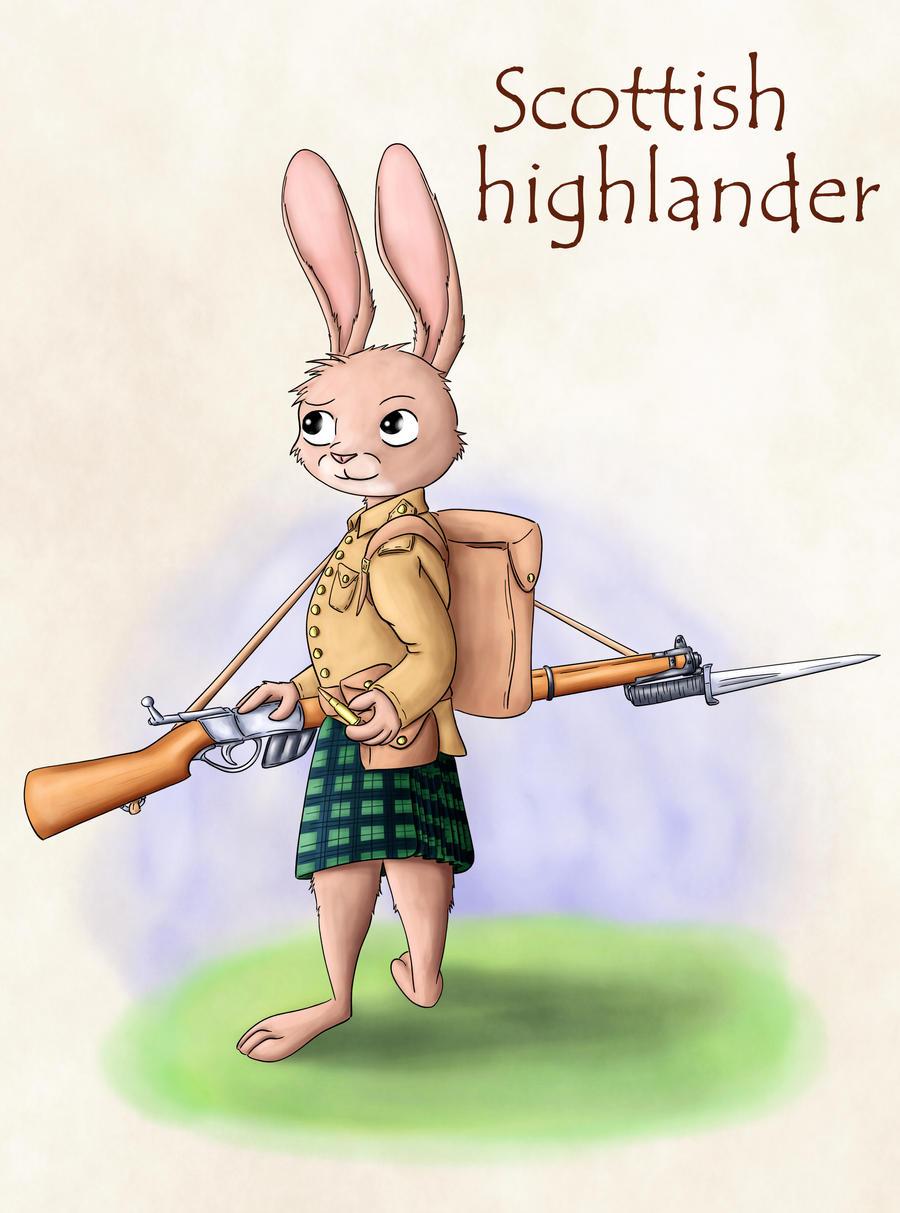 Warrior rabbits - Highlander