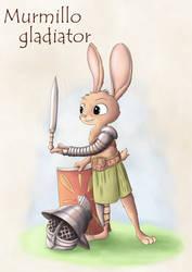 Warrior rabbits - Murmillo
