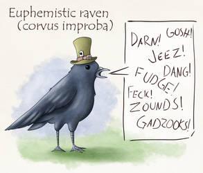 Euphemistic raven