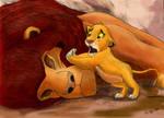 Mufasa's Death, color