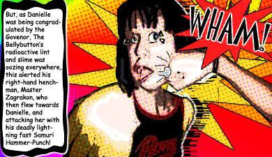 Danielle Comic Adventure 2 by fieryDeathpenguin