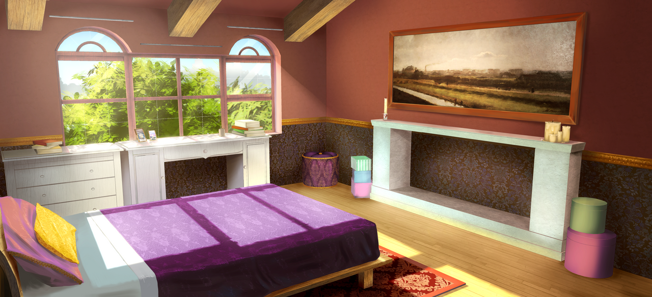 Tlom Main Characters Room Bg By Exitmothership On Deviantart