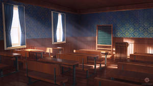 Classroom (VN Background) by ExitMothership