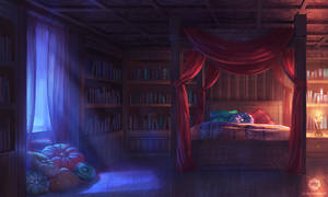 Dizzy Hearts: Mercilia's Room
