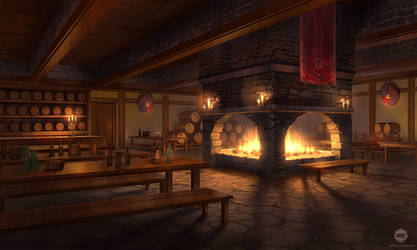 Dizzy Hearts: Tavern by ExitMothership