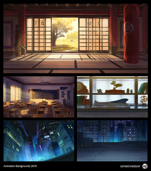 Commission: Animation Backgrounds 2018