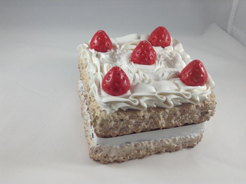Strawberry Cake Mystery Box by laffatgravity
