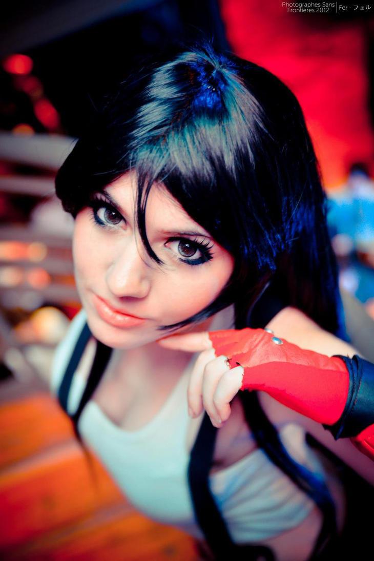 tifa lockhart cosplay by neliiell