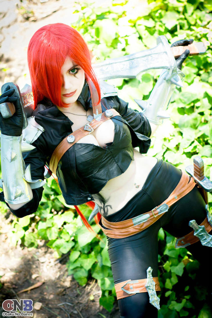 Katarina League of legends Cosplay by neliiell