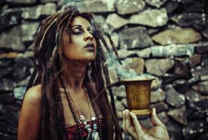 Tia Dalma (Calypso) cosplay by Elis-Kelt