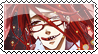 Stamp Shinigami Grell by TheMadamme