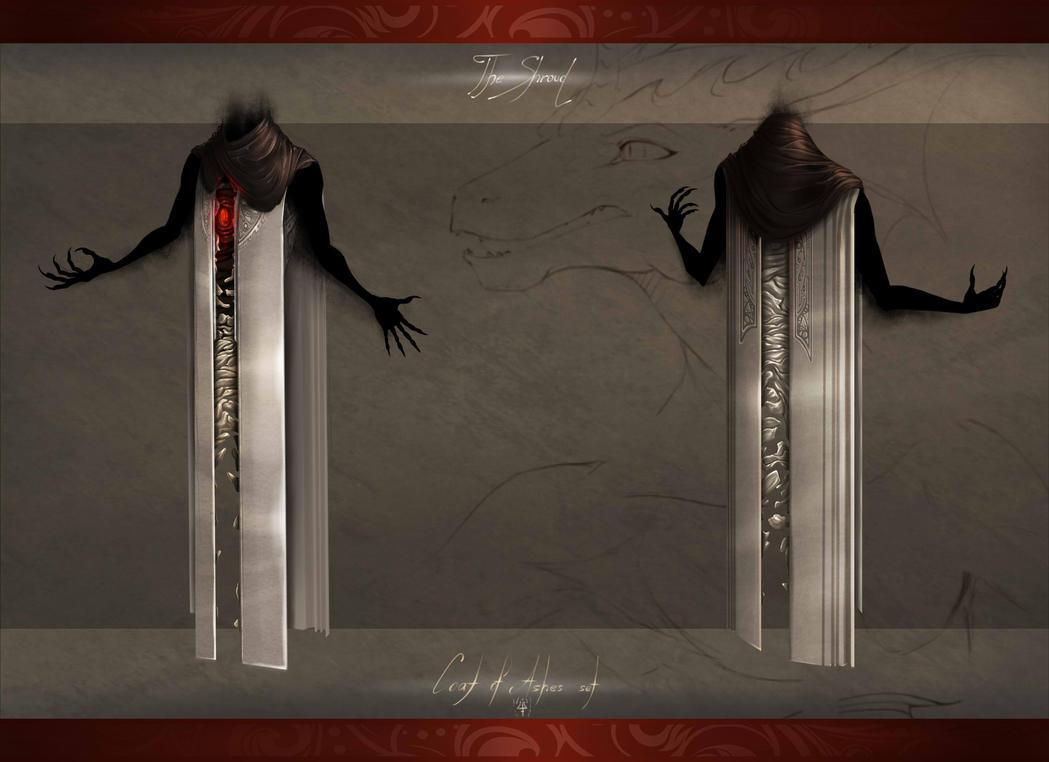 Coat of Ashes - Shroud by Kredri