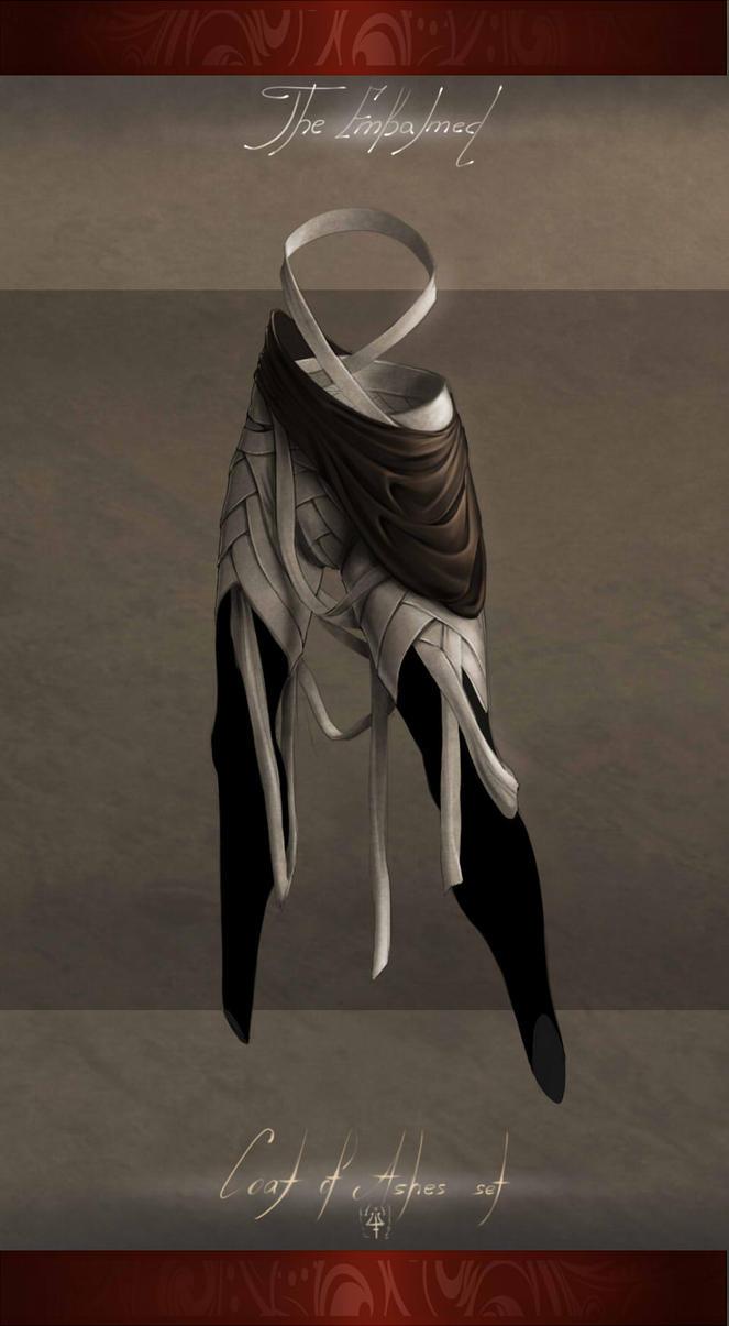 Coat of Ashes - Embalmed by Kredri