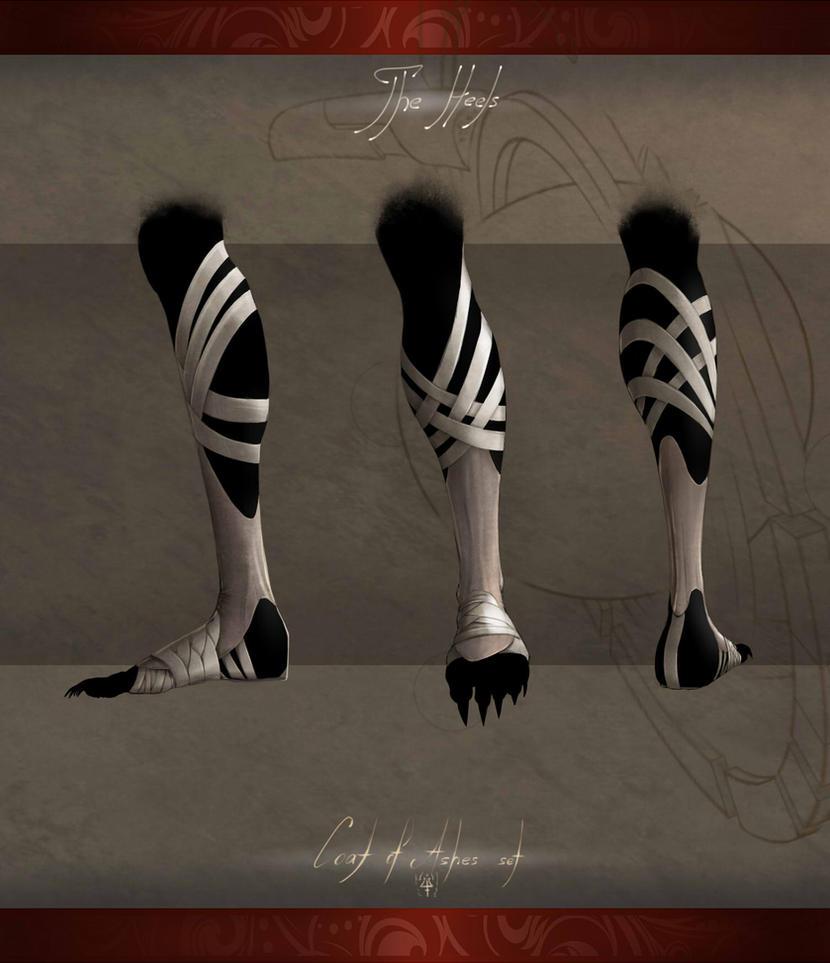 Coat of Ashes - Heels by Kredri