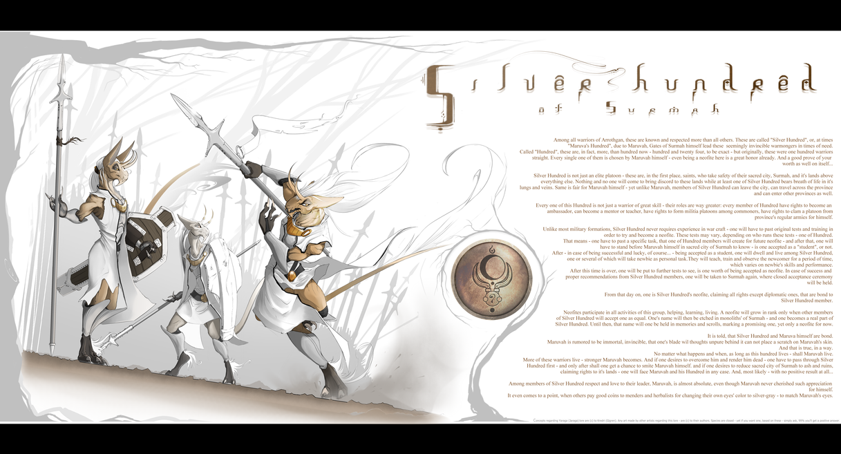 Silver Hundred by Kredri