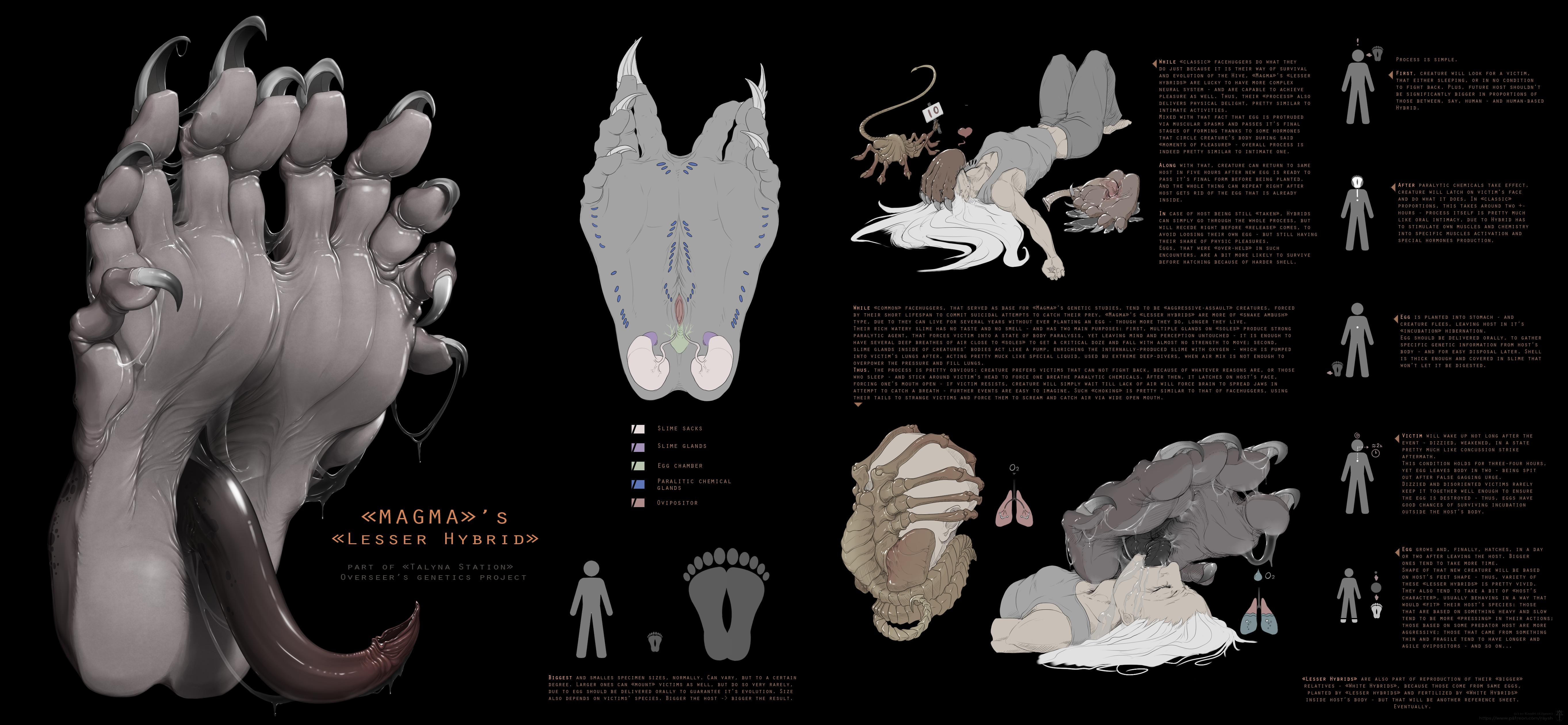 Magma lesser hybrid by Kredri on DeviantArt