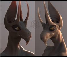 Yaraga head model